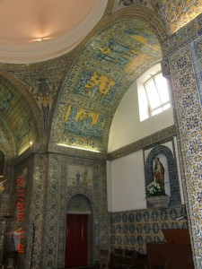 Carcavelos Church tile panels