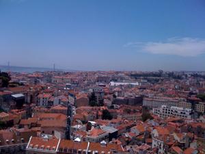 Lisbon from Miradouro de Graca