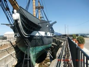 Lisbon's Frigate ship
