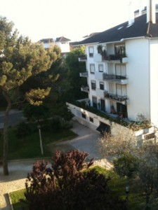 Apartment Rear View