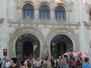 Lisbon's Rossio station
